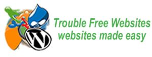 Cookie policy Trouble Free Websites website in Ellesmere Port