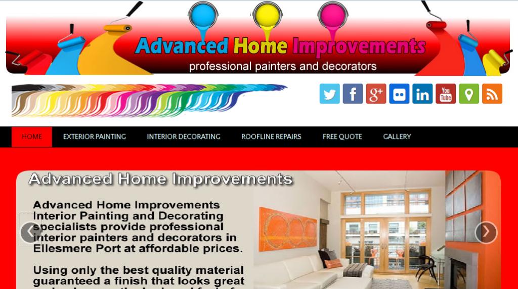 Advanced Home Improvements Website